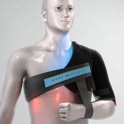banda hombro izquierdo.