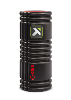 Rodillo de espuma TriggerPoint Grid X 1.0 Foam Roller 13″ Negro.