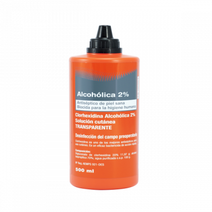 MICLORBIC Clhorexidina 2% 500ml tapón